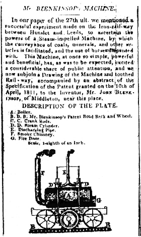 1812 newspaper extract