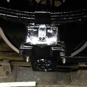 a close-up of an axlebox