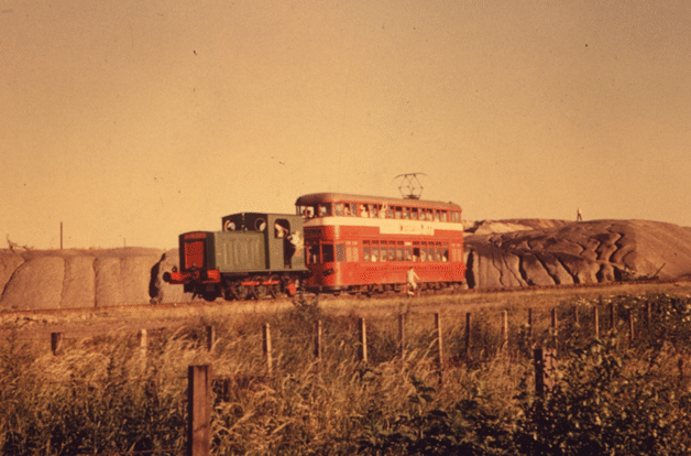 original 1960 passenger train