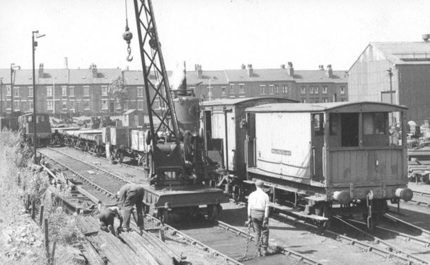 Track work in Dartmouth Yard