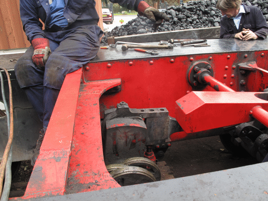 removing valve gear