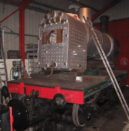 boiler in the workshop