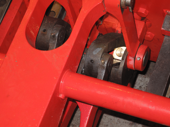 valve gear showing new die block