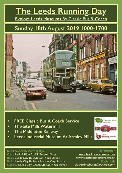 Bus Run Day Poster