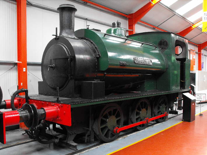 'Brookes No1' on display before the overhaul began.