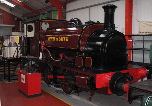 visit a steam locomotive cab